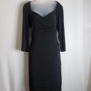 White House Black Market | Dress | Black |  Sz 16